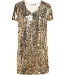 bscoras r dr dresses sequin dresses guld blend she