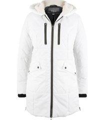 giaccone con cappuccio foderato (bianco) - bpc bonprix collection