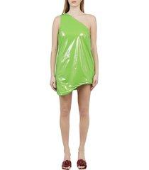 maisie wilen green pebbles dress