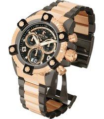 reloj invicta modelo 12987_out rosa oro, gunmetal hombre