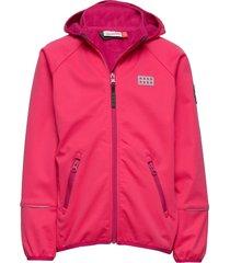 lwsam 200 - softshell jacket outerwear softshells softshell jackets rosa lego wear
