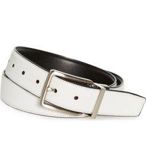 pga tour men's black and white reversible belt
