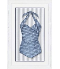 "paragon vintage-like swimsuit 4 framed wall art, 45"" x 29"""