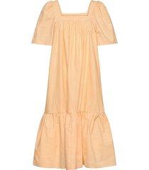 bera jurk knielengte geel stella nova