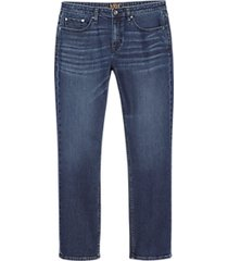 joe joseph abboud bolton indigo blue athletic fit jeans