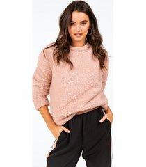 caelynn wubby sweater - blush