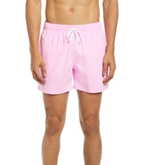 chubbies 5.5-inch swim trunks, size x-large in light/pastel pink at nordstrom