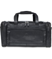 mancini buffalo collection carry on duffle bag