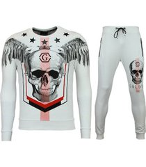trainingspak enos trainingspakken - joggingpak online - ster skull -