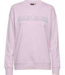 biccari c sweat-shirt tröja rosa napapijri