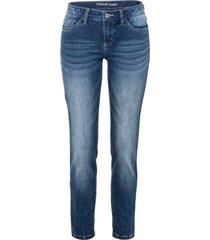 jeans skinny con inserto (blu) - rainbow