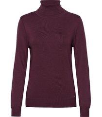 pullover long-sleeve turtleneck polotröja lila gerry weber edition