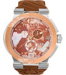 reloj mulco para mujer - cubism  mw-5-3547-323