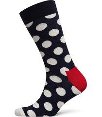 big dot sock underwear socks regular socks blå happy socks
