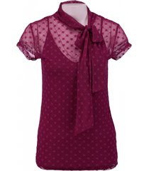 guess purplepink top met ondertop
