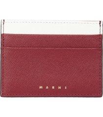 marni card holder with logo