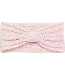 bow cashmere headband