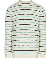 anerkjendt pullover met streep multicolor 9220204/9503
