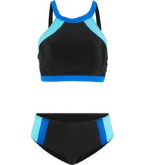 bikini (set 2 pezzi) (nero) - bpc bonprix collection