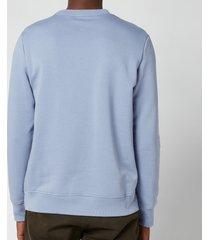 ps paul smith men's regular fit sweatshirt - blue - xl