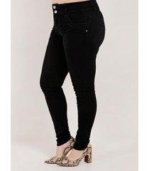 calça amuage sarja plus size feminina - feminino