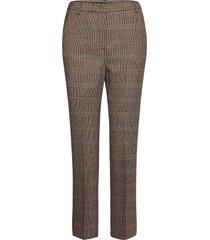 aggetto pantalon met rechte pijpen beige weekend max mara