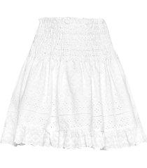 holly skirt kort kjol vit by malina