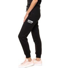 pantalón negro adidas originals cuf pant