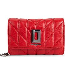 lafayette quilted leather crossbody bag
