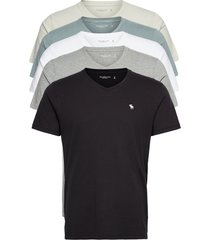anf mens knits t-shirts short-sleeved vit abercrombie & fitch