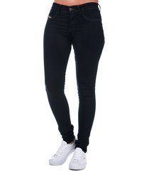 diesel womens livier super slim jegging jeans size 32 inch in purple