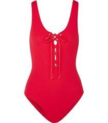 ganni one-piece swimsuits