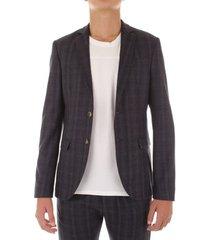 blazer bicolore f1797l-anice