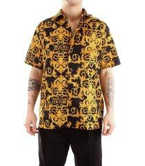 overhemd korte mouw versace b1gwa6b4wup202