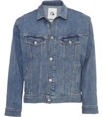 jaqueta jeans quiksilver og denim azul - kanui