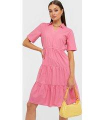 jacqueline de yong jdytesha 2/4 midi dress wvn loose fit dresses