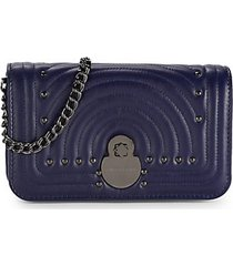 calvacade quilted leather wallet-on-chain