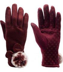 guantes moisés rojo topsoc