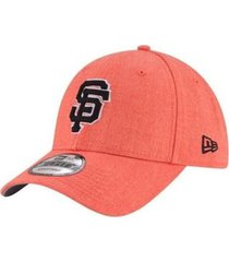 gorra hombre new era sf giants heather crispsnap-naranja