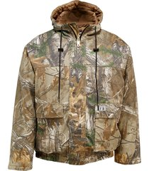 wolverine men's fr hooded work jacket realtree™ xtra camo, size xl
