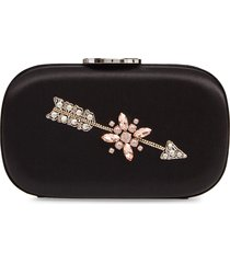 giambattista valli zodiac embellished clutch - black