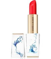 estee lauder pure color envy sculpting lipstick - immortal with exclusive asa eckstrom-designed case