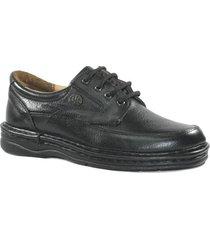 zapato negro mocassino londres