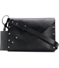 a.f.vandevorst studded crossbody bag - black