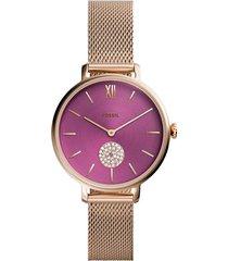 reloj fossil mujer es4843