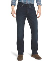 men's 34 heritage charisma relaxed fit jeans, size 30 x 32 - blue
