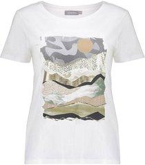 t-shirt front print s/s