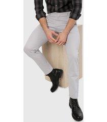 pantalón gris calvin klein