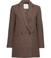 ditte jacket 11284 blazer kavaj brun samsøe samsøe