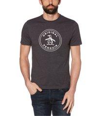 original penguin men's basic stamp logo short sleeve t-shirt